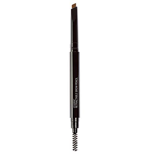 Wet n Wild - Ultimate Brow Retractable Pencil - Lápiz para Cejas Marrones - Retráctil, Ultrapreciso, con Punta de Lápiz Triangular, Pigmentado, Define Perfectamente - Medium Brown - 1 Unidad