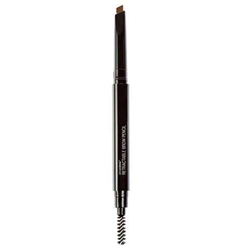 Wet n Wild - Ultimate Brow Retractable Pencil - Lápiz para Cejas Marrones - Retráctil, Ultrapreciso, con Punta de Lápiz Triangular, Pigmentado, Define Perfectamente - Medium Brown - 1 Unidad