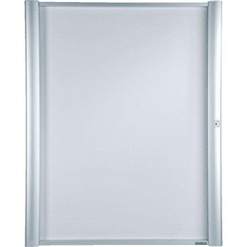 MAXIMUS ECONOMY Schaukasten, mit Acrylglastür, verschließbar, Aluminium,9xDIN A4