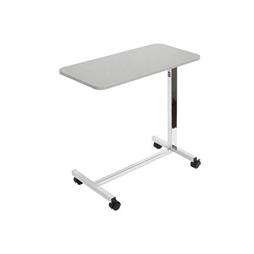 Teqler Höhenverstellbarer Betttisch, Beistelltisch für Kranken- und Pflegebetten