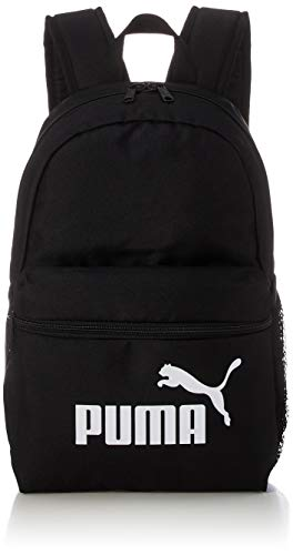 PUMA Mochila pequeña unisex Puma Phase, Mochila, 078237, Negro (puma black), Talla única