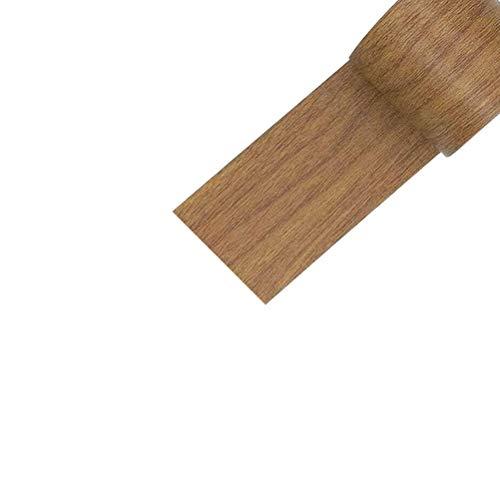 TiKiNi Pegatina autoadhesiva de grano de madera, 4,5 m PVC impermeable con textura de madera adhesiva de madera para el hogar cocina ventana cajón Liner