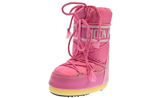 Moon Boot Nylon, Stivali Invernali Unisex Bambini, Rosa, 31-34