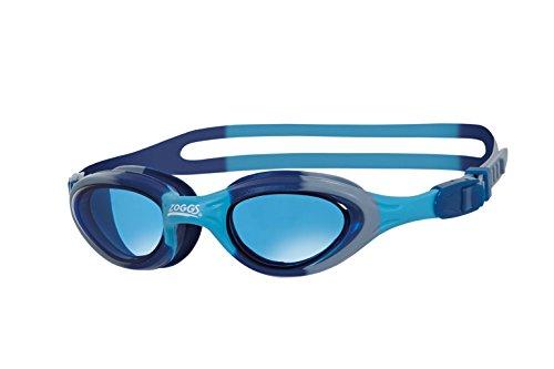 Zoggs Super Seal Gafas de natación, Infantil, Azul/Camuflaje, 6-14 años