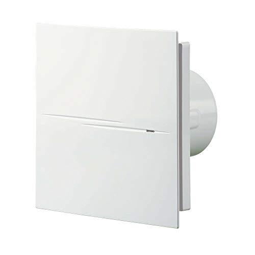 Vens 100 Quiet Style TH (V2) bad-lüfter mit feuchtesensor und timer Nachlauf Ventilator 100 mm/Kugellager/Rückschlagklappe