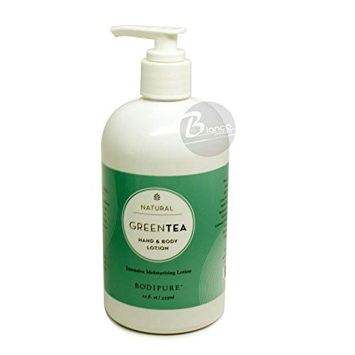 Green Tea Hand & Body Lotion-12oz by Bodipure Inc.