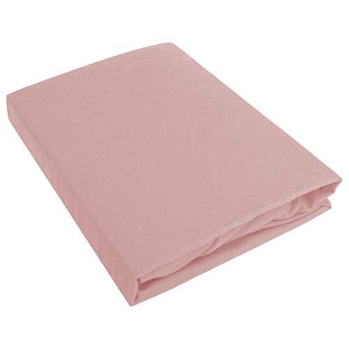 Traumschloss Feinbiber Spannbetttuch aus 100% Baumwolle für besten Schlafkomfort -...