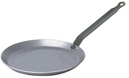 DE BUYER 5120.26 Crepe-Pfannen aus schwerem Eisenstahl 26Cm