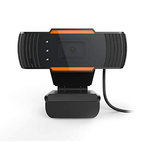 ROSEBEAR Web Camera met Microfoon 480P USB Webcam Ingebouwde kwaliteit digitale microfoon Clear Stereo Audio, HD Licht Correctie voor Computer Laptop PC