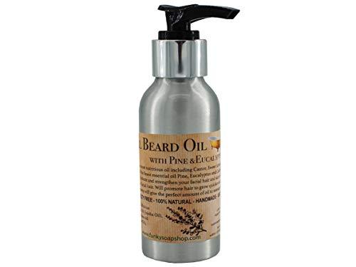 Funky Soap Natural Beard Oil with Pine & Eucalyptus, 50ml