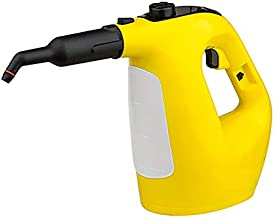 CGOLDENWALL High Temperature Pressure Steam Cleaner Cleaning Machine 1500W Portable for Multifunctional Kitchen Car Automotive Yellow110V/220V (110V)