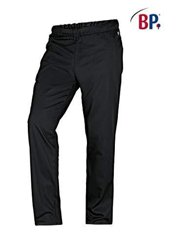 BP1645-400-32-XLn Unisex-Hose mit Gummizug in der Taille 215,00 g/m² Stoffmischung, schwarz XLn