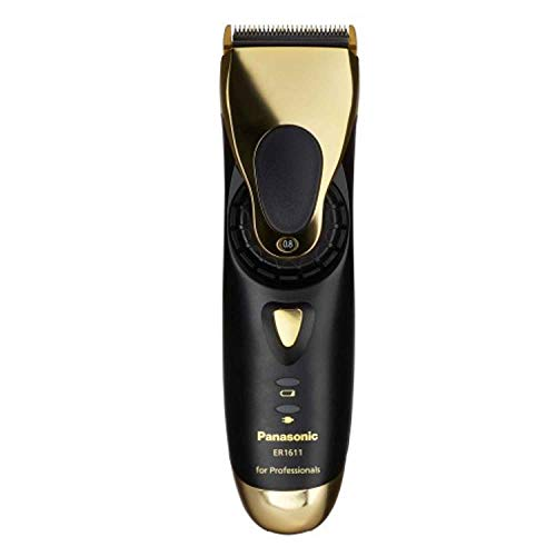 Panasonic ER-1611 - Cortapelos profesional, color oro