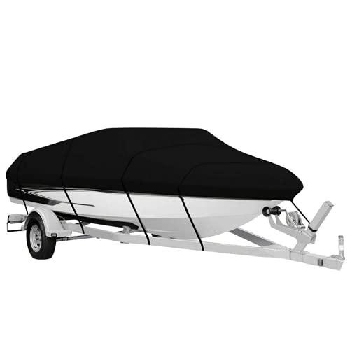 Zimbu de Vaca Negra Funda de Barco Impermeable Funda de yate protección Solar protección UV Tipo V