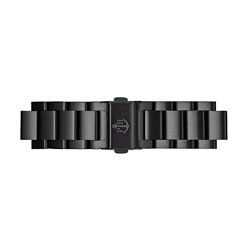 PAUL HEWITT Uhrenarmband Metall IP Black Metal 20 mm