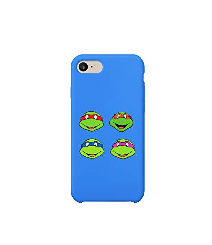 Teenage Mutants Ninja Turtles Character Faces Fan_A1233 Case for iPhone 8 Plus, Protective Phone Mobile Smartphone Case Cover Hard Plastic for Compatible with iPhone 8 Plus