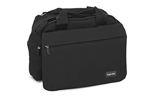 Inglesina My Baby Bag AX90N0BLK Borsa Fasciatoio, Collezione 2021, Nero