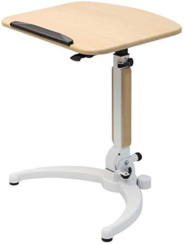 JISHIYU -Q - Escritorio de pie con altura neumática ajustable para aulas, oficinas/hogar, amplia plataforma, podio de almacenamiento plegable