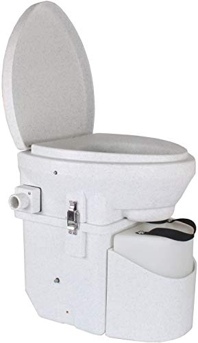 Product Image of the Nature's Head Self Contained Composting Toilet with Close Quarters Spider Handle Design