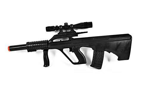 Vetrineinrete Fucile Giocattolo con mirino e 12 Colpi per Bambino Giochi d'Azione Cowboy Poliziotto Idea Regalo 4000 A113