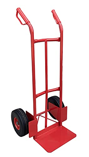 Heavy Duty Sack Truck with Puncture Proof Tyres (200kg Capacity), All-round Sack Trolley / Sack Barrow