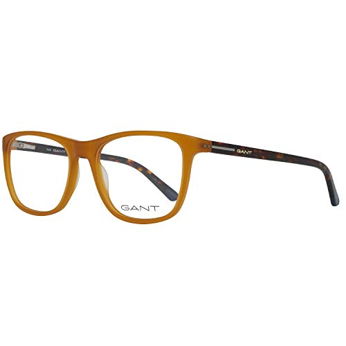 Gant Brille Ga3146 047 53 Monturas de gafas, Amarillo (Honig), 53.0 para Hombre