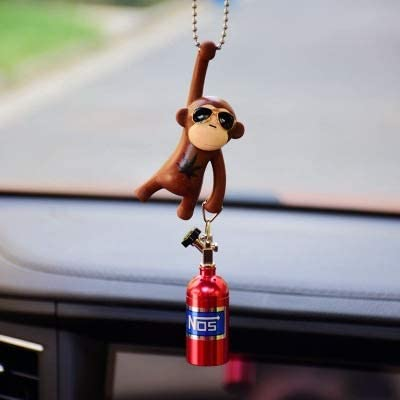 feilai Car Pendant Hanging Monkey Car Interior Ornaments Decorat