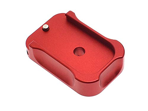 CowCow Airsoft G-Series Magazine Base Plate GBB, Red