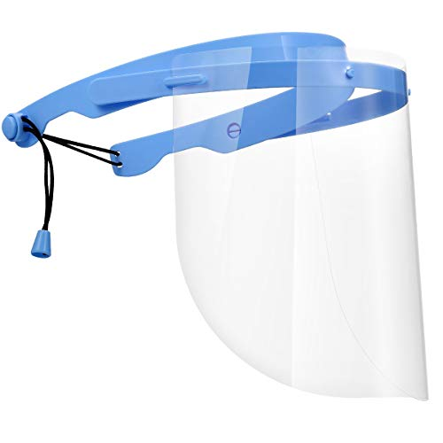 KeeKit Face Shield, Anti-fog Adjustable Dental Full Face Shield, Anti-saliva Safety Face Cover with...