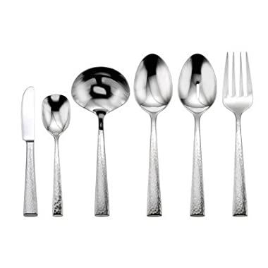 Oneida Cabria 6 Piece Fine Flatware Hostess Set, 18/10 Stainless