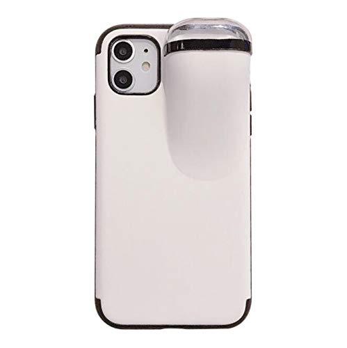WLWLEO voor iPhone7/8Plus,iPhone6P/6S Plus Case,Schokbestendige bescherming Back Shell met Storage Bluetooth Headset, voor iPhone7g/8G/6G