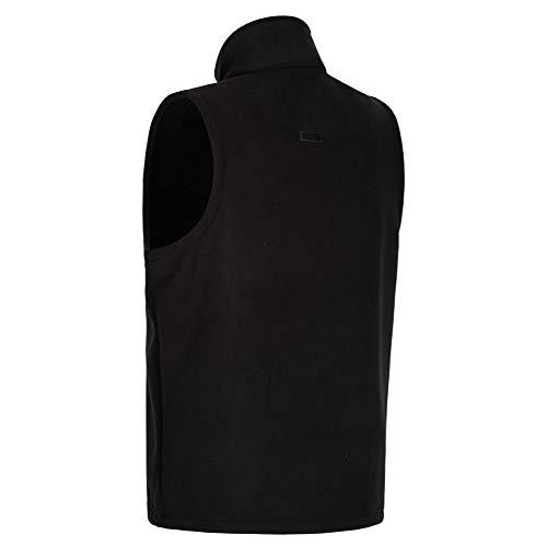 Regatta Men Radburn Sherpa Backed Micro Fleece Bodywarmer - Black, Medium