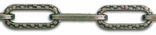 Chapuis LVBL41 Cadena para lámpara - Alambre de acero repujado con acabado de bronce - 32 kg - Diámetro 4 mm - Largo 1,5 m
