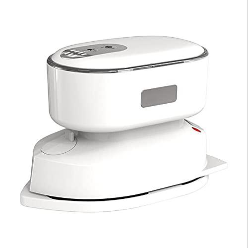 HXXXIN Multifuncional Radio portátil Plancha de Mano Recargable pequeña Mini máquina de Planchar Ropa Viaje a casa artefacto