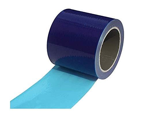 [フェアリーテール]マスキングテープ 養生フィルム 養生 テープ 表面保護フィルム 表面保護テープ (ブルー, 幅10cm 長さ100m)