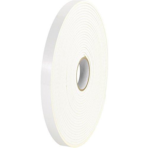 Tape Logic t95441162pk Polyethylen Schaumstoff Doppelseitiges Klebeband, 1/81,3cm Dick, 72Yards Länge x 3/10,2cm Breite, weiß (Fall von 2)
