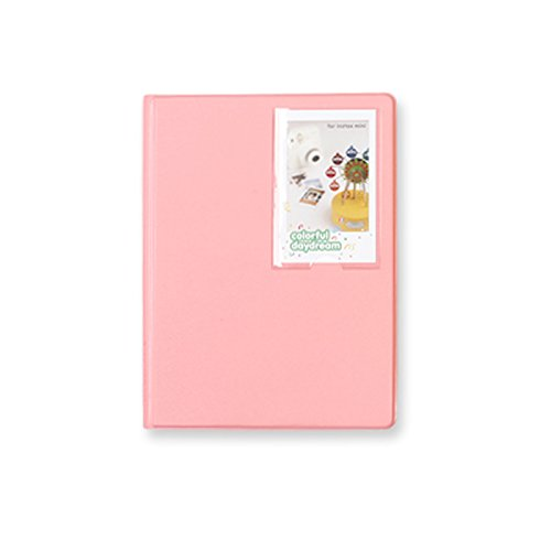 2nul チェキアルバム mini polaroid album L【97枚収納】 (Indi Pink)