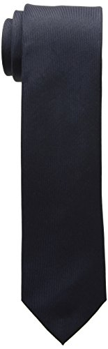Kenneth Cole REACTION Men's Solid Tie, Navy, One Size