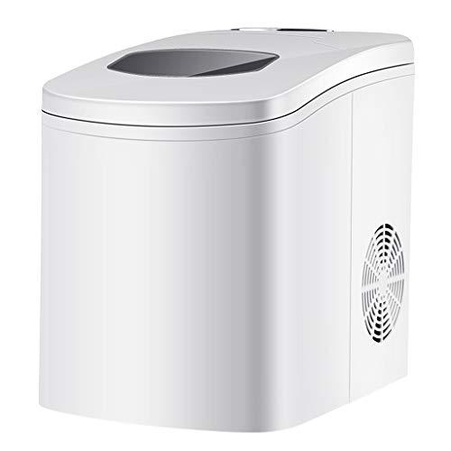 JNYB Eiswürfelmaschine, tragbare elektrische Eismaschine mit Arbeitsplatte 1,7 l Tank, EIS bereit in 7-9 Minuten, 12 kg EIS in 24 Stunden 42 dB Eiswürfelmaschine