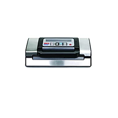 Nesco American Harvest VS-12 130W Vacuum Sealer, Black/Silver