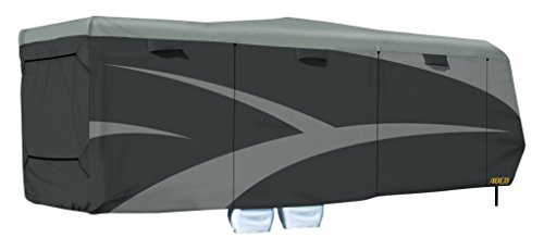 ADCO 52275 Toy Hauler Designer Series SFS AquaShed Cover, Fits 30'1' - 33'6' Trailers, Gray