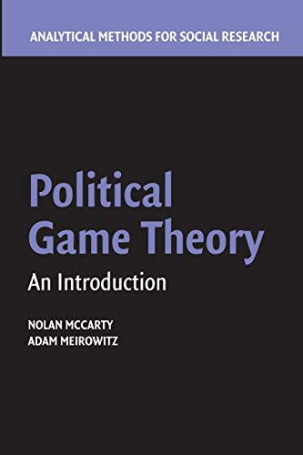 Political Game Theory: An Introduction