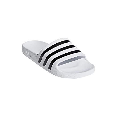 adidas Aqua Adilette - Chanclas, color Blanco, talla 39 EU