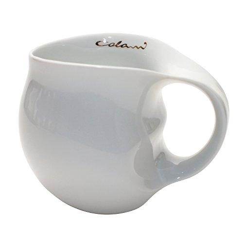 Colani Kaffeebecher, Porzellan, weiß, 11 x 9,5 x 9 cm