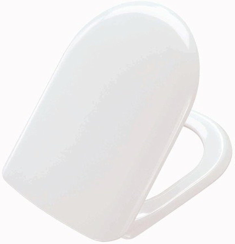 Pressalit 104273-B33999 WC-Sitz Magnum pergamon mit Deckel und Festscharnier (B33)