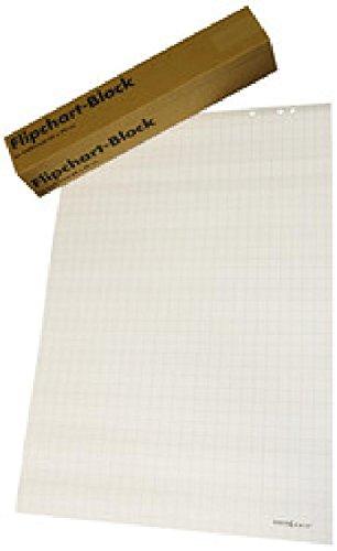 Flipchartblock Flipchartpapier Büroline blanko / kariert VE=5 günstig