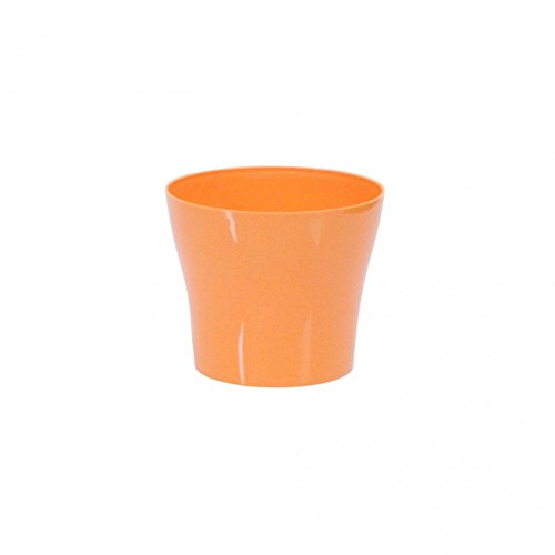 Plastkon Déco Pot Tulipan Diamètre 15 cm, Orange