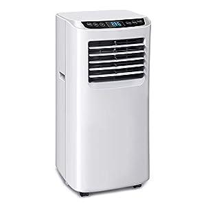immagine di OZEANOS Climatizzatore Portatile,Condizionatore d'Aria 3-in 1: Raffreddamento, deumidificazione, ventilazione 7000 BTU/h,2,05kW,R290,Ottimo per Ambienti di 35 mq,Bianco (7000 BTU) (9000 btu)