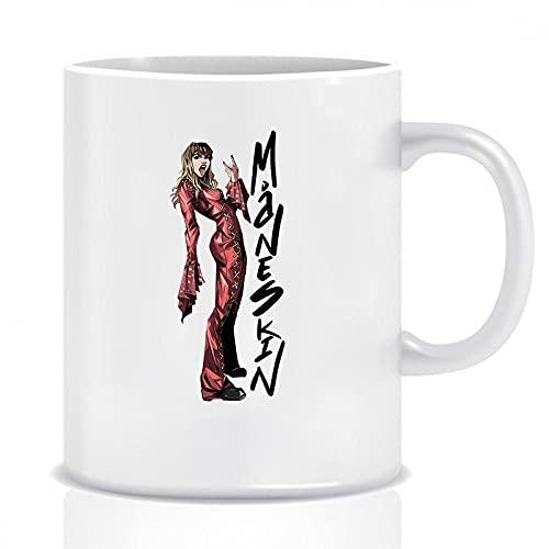 Maneskin Becher Angelis Maneskin Victoria Rock Band Kaffeebecher Maneskin Merchs Persönlichkeit Keramiktasse Geschenk Für Fans