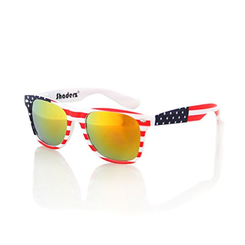 SHADERZ Classic gafas Retro Classic gafas de sol del 80